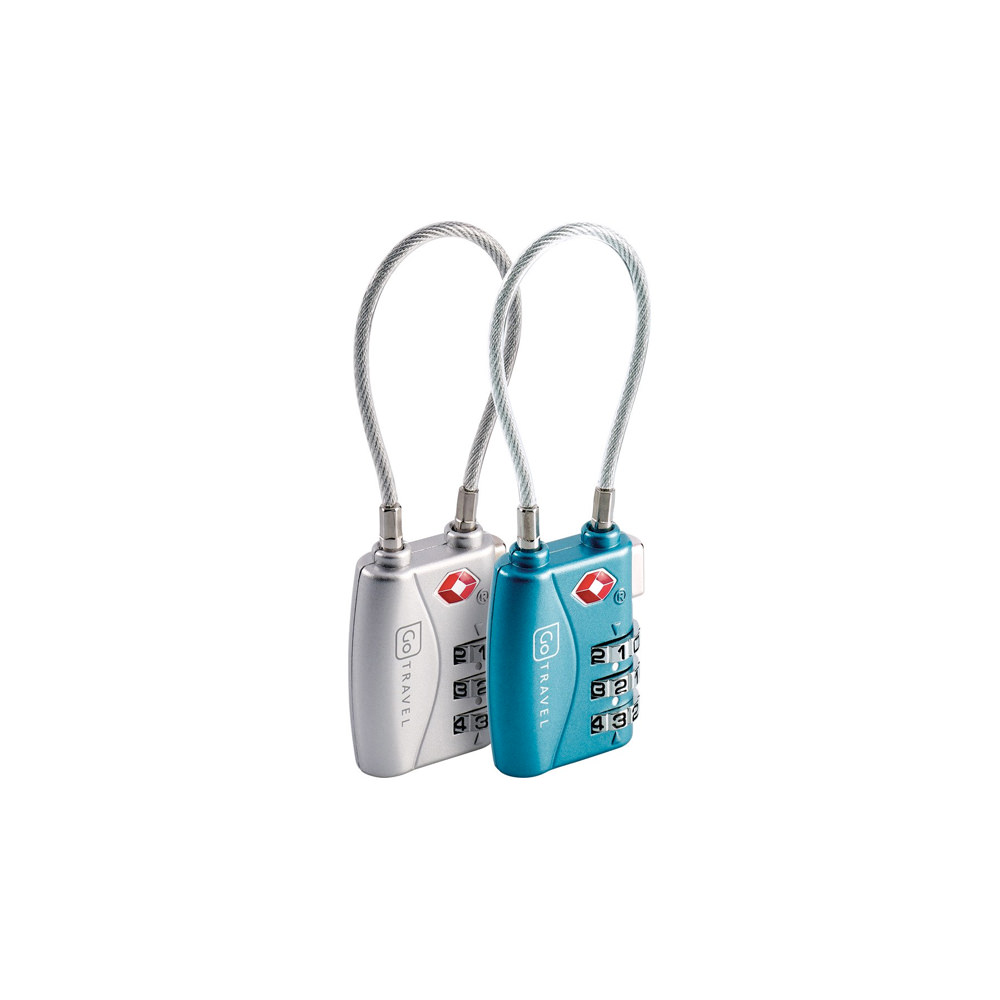 Combination Cable Lock – Go Travel 360 Twin Pack