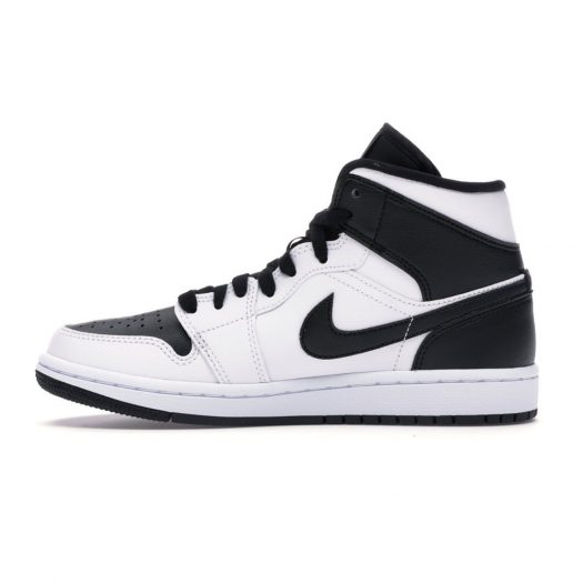 Jordan 1 Mid Reverse Black Toe (W)