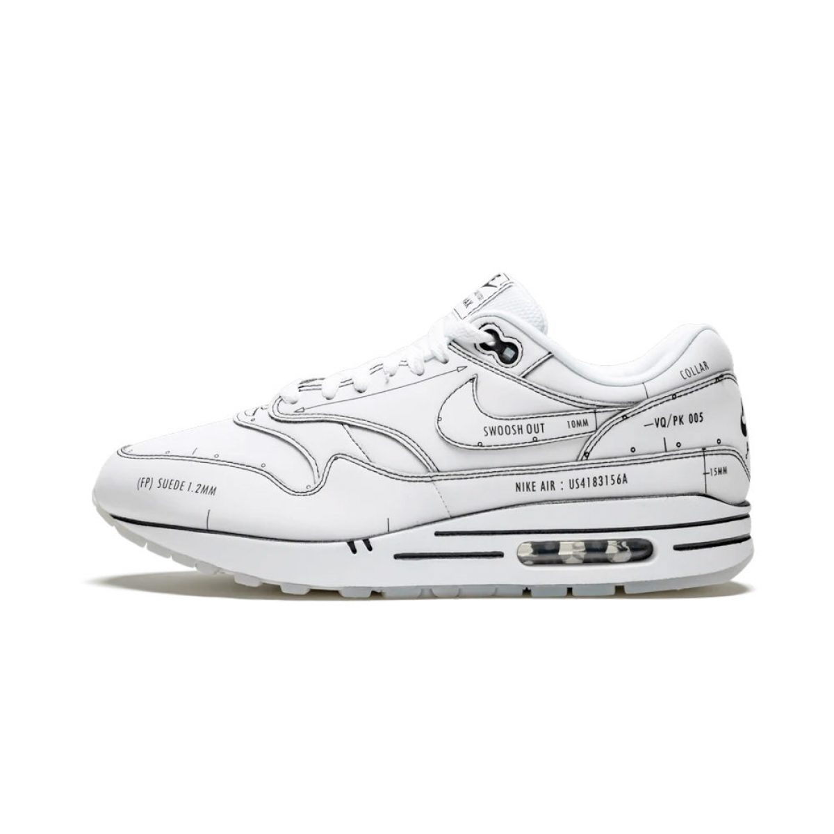 Nike Air Max 1 Tinker Schematic