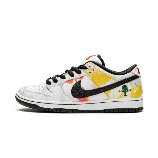 Nike SB Dunk Low Raygun Tie-Dye White