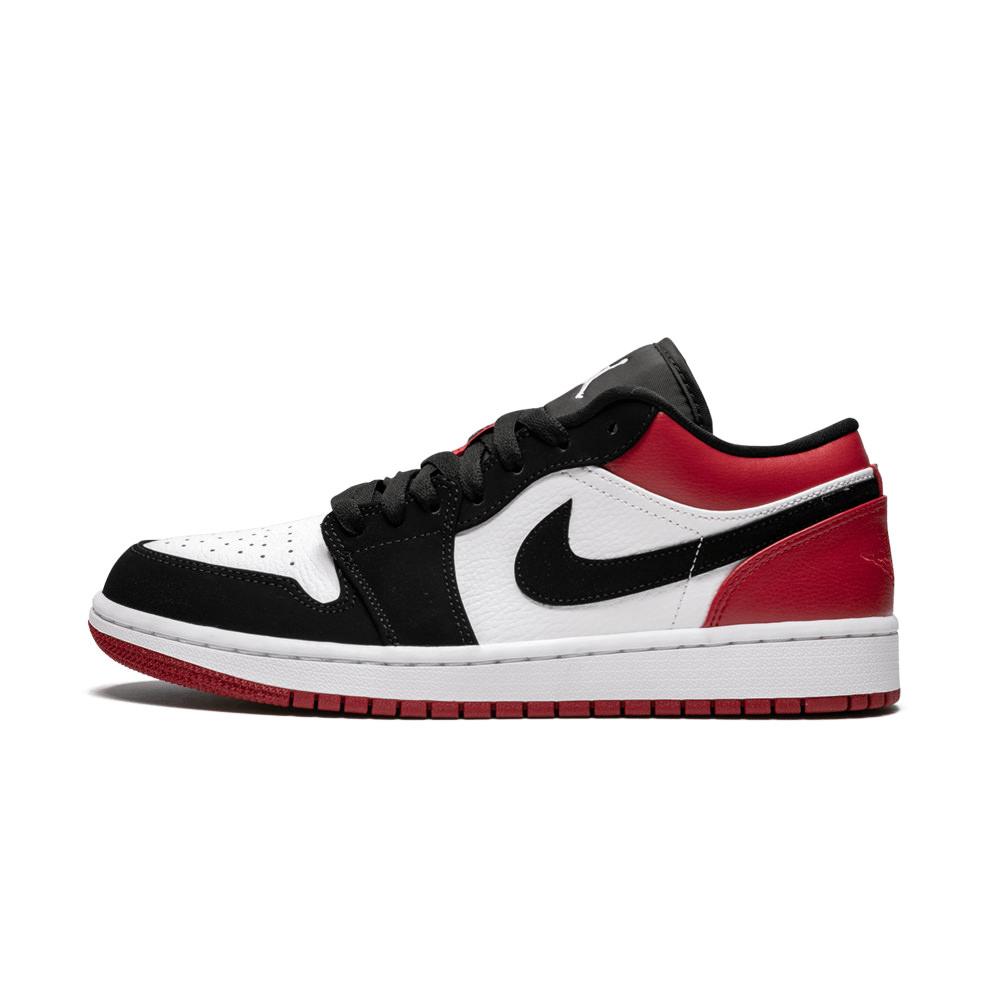 Jordan 1 Low Black Toe - OFour