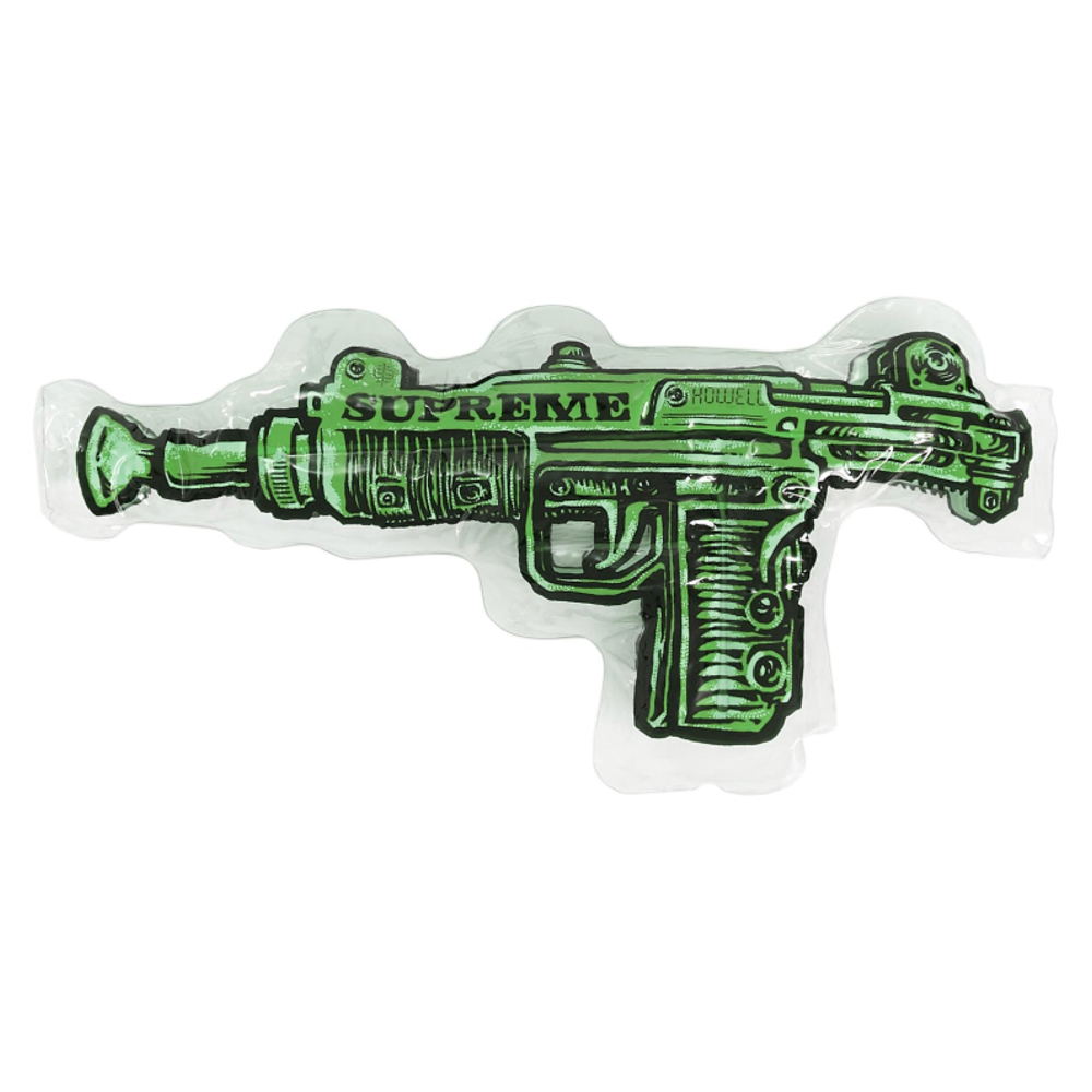 Supreme Toy Uzi Inflatable Pillow Lime