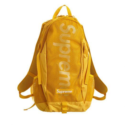 Supreme Backpack (SS20) Gold