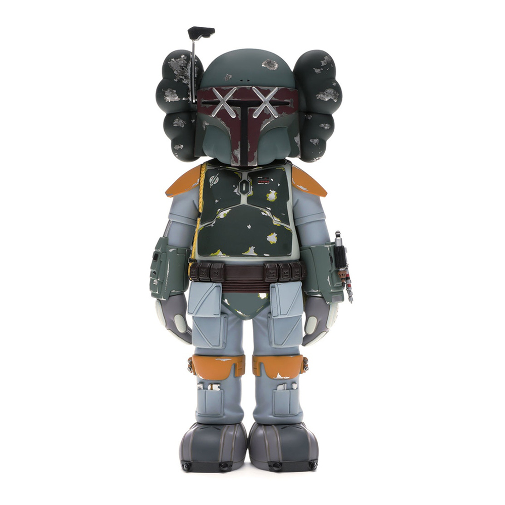 KAWS Star Wars Boba Fett Vinyl Figure Multi