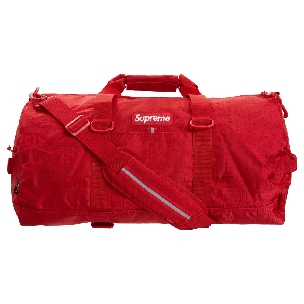 Supreme Duffle Bag (SS19) Red