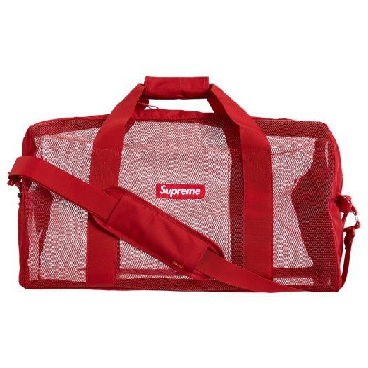 Supreme Big Duffle Bag (SS20) Red
