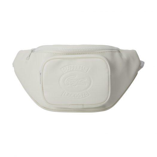 Supreme LACOSTE Waist Bag White