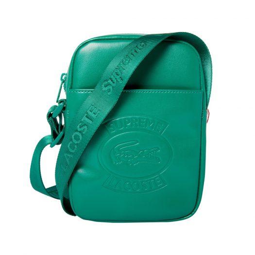 Supreme LACOSTE Shoulder Bag Green