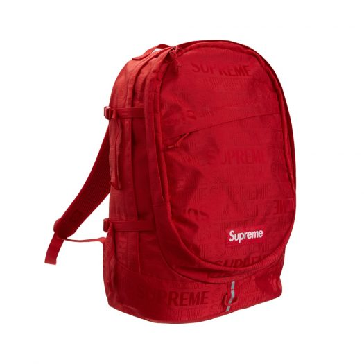 Supreme Backpack (SS19) Red