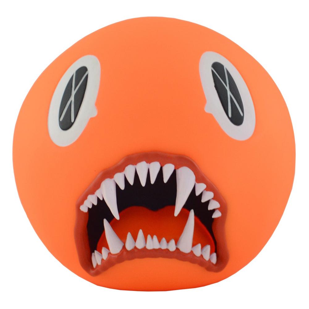 KAWS Cat Teeth Bank Vinyl Figure Orange