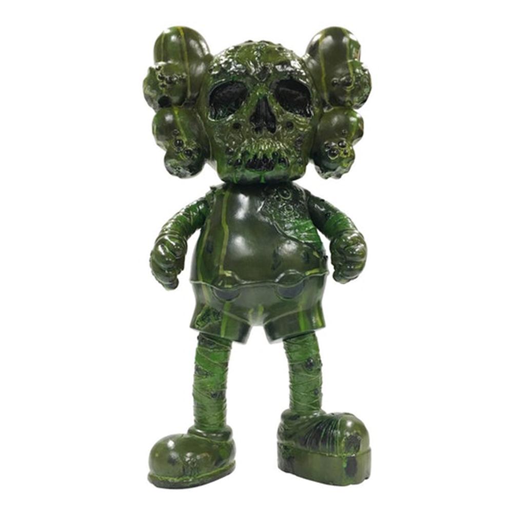 KAWS Pushead Companion Vinyl Figure Green