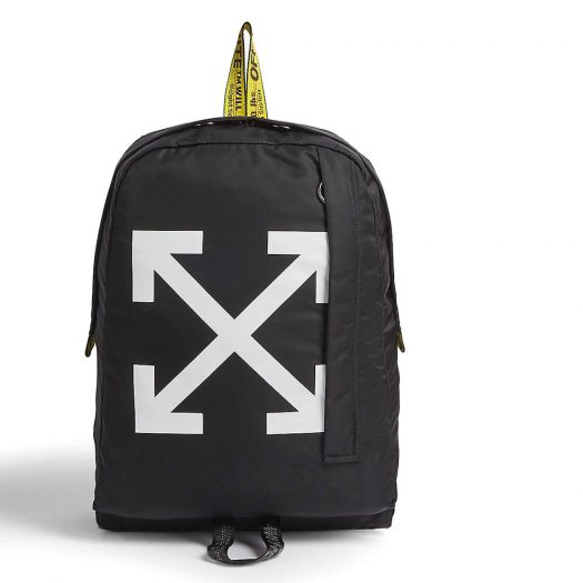 Off White Arrow Motif Backpack