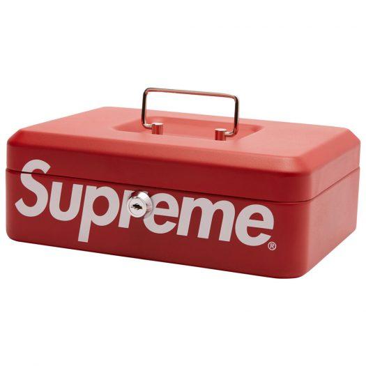 Supreme Lock Box Red