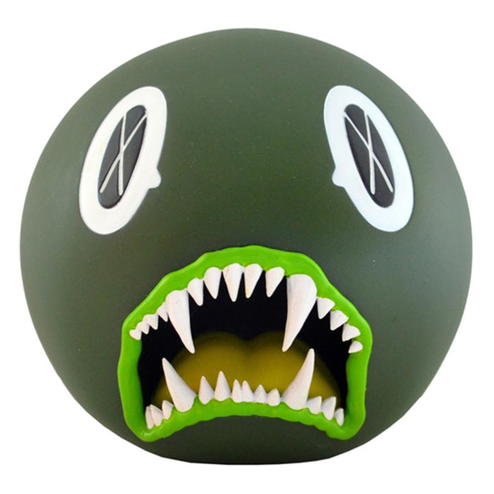 KAWS Cat Teeth Bank Vinyl Figure Green