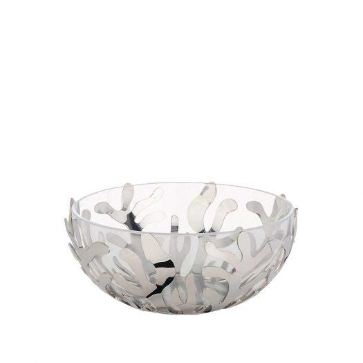 Alessi Mediterraneo Stainless Steel Serving Bowl 21cm