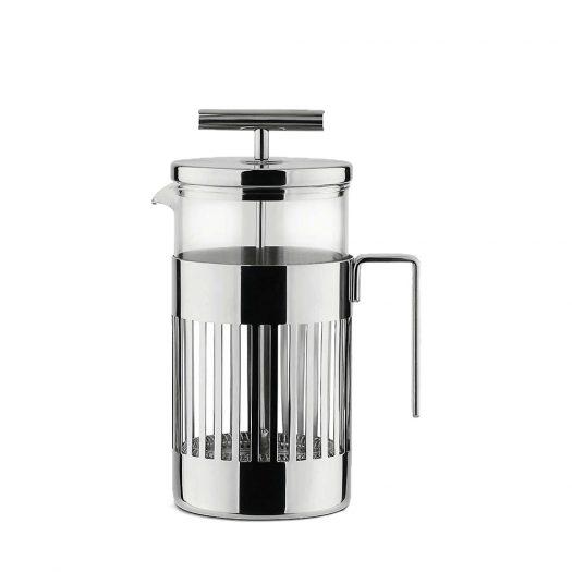 Alessi Three-cup Press Filter Coffee Maker 240ml
