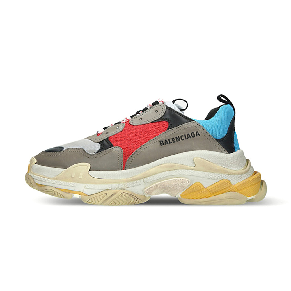 Balenciaga Triple S Runner Leather and