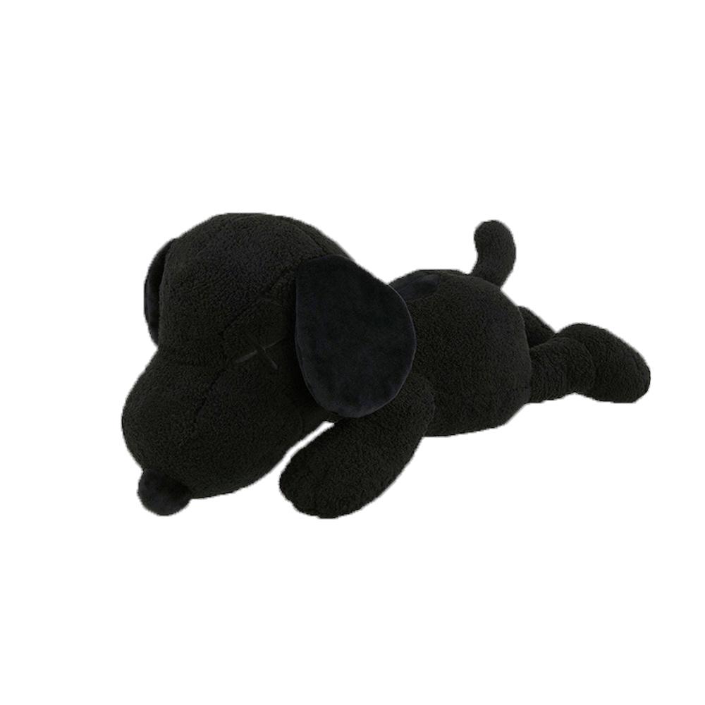 KAWS x Uniqlo x Peanuts Snoopy Plush (Small) Black