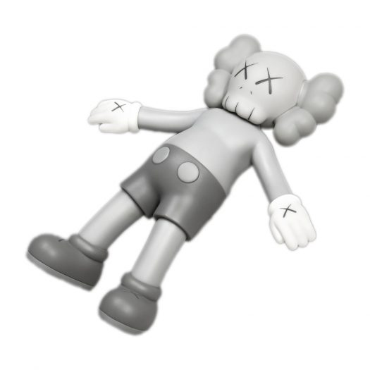 KAWS HOLIDAY Hong Kong Bath Toy Grey