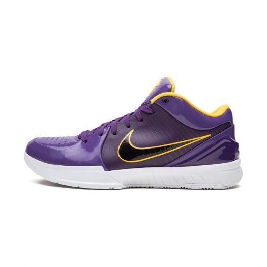 Nike Kobe 4 Protro Undefeated Los Angeles Lakers