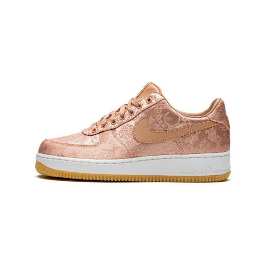 Nike Air Force 1 Low Clot Rose Gold Silk (Regular Box)