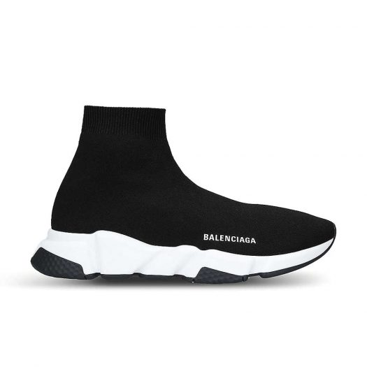 Balenciaga Speed Woven Mid Top Trainers