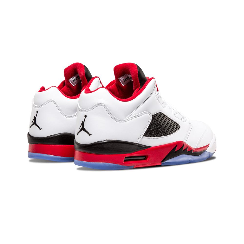 Jordan 5 Retro Low Golf Fire Red (Silver Tongue)
