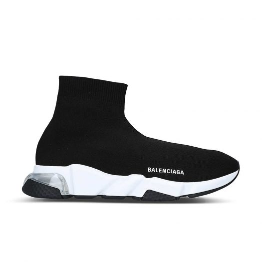 Balenciaga Speed Knitted Bubble High Top Trainers