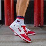 Nike SB Dunk Low Supreme Jewel Swoosh Red