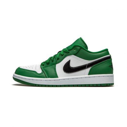 Jordan 1 Low Pine Green