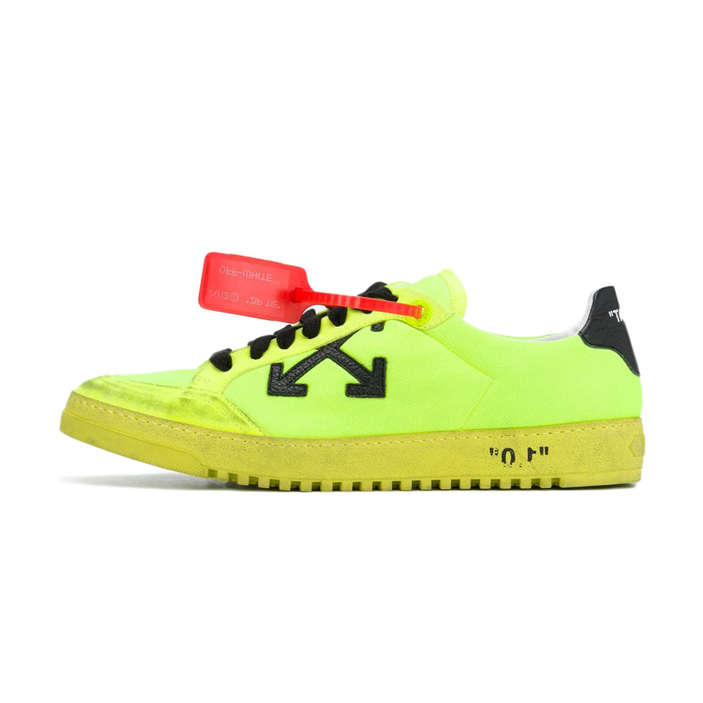 OFF-WHITE Low 2.0 Fluo Yellow FW19