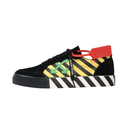OFF-WHITE Vulc Low Black Yellow Green