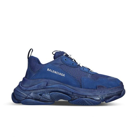 Balenciaga Triple S Airsole Leather And Mesh Trainers