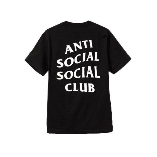 Anti Social Social Club Logo 2 Tee (FW19) Black