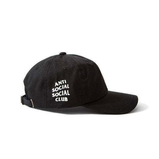 Anti Social Social Club Weird Cap (FW19) Black
