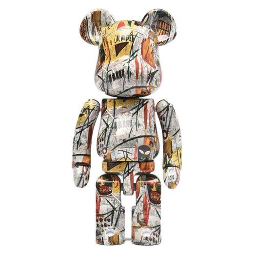 Bearbrick Medicom Super Alloyed Jean-Michel Basquiat 200% Multi