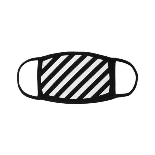 OFF-WHITE Diag Face Mask (SS19) Black/White