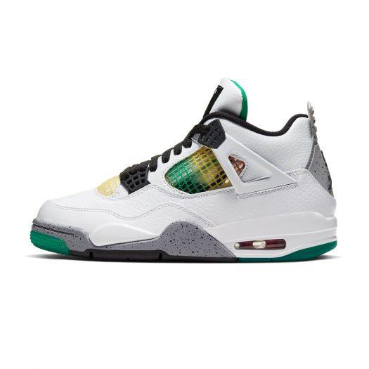 Jordan 4 Retro Lucid Green Rasta (W)