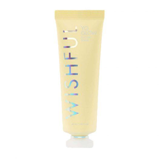 Huda Beauty WISHFUL Yo Glow Mini Enzyme Scrub 40ml
