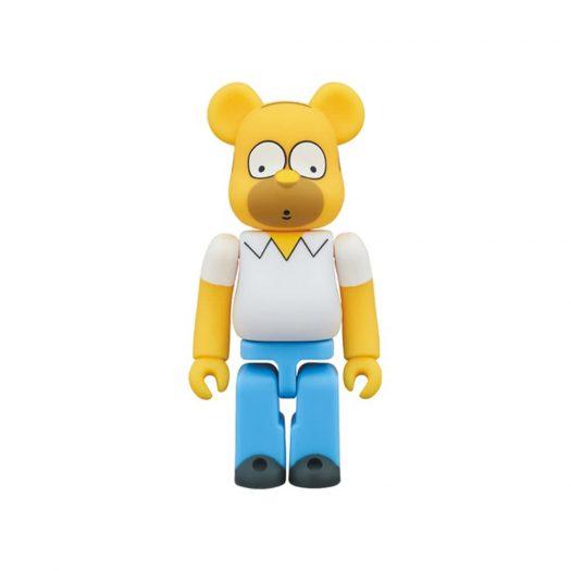 Bearbrick Homer Simpson 100% Yellow