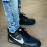 Nike Air Force 1 Low Sketch Black