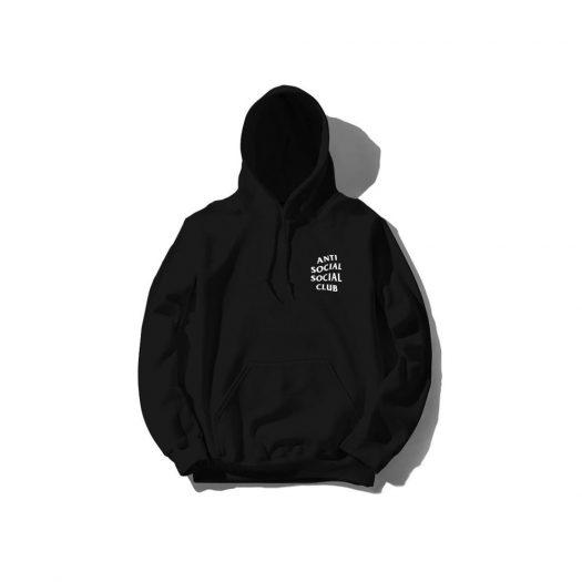 Anti Social Social Club Mind Games Hoodie (SS20) Black