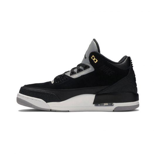 Jordan 3 Retro Tinker Black Cement Gold