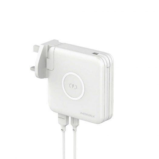 The Tech Bar Momax Q. Power Plug Wireless Portable Pd Charger
