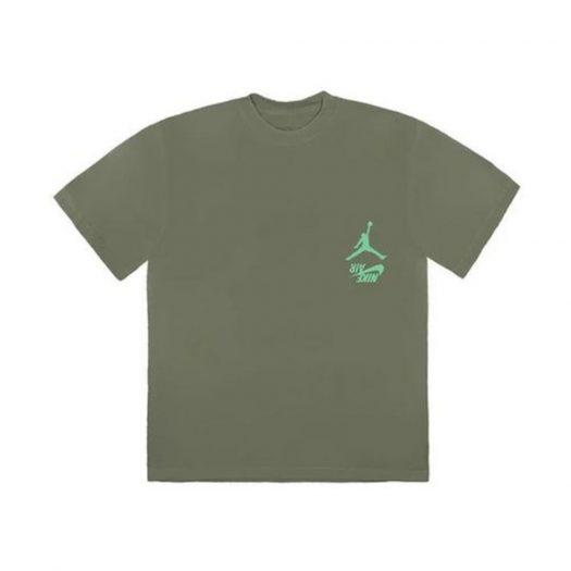 Travis Scott Jordan Cactus Jack Highest T Shirt Olive