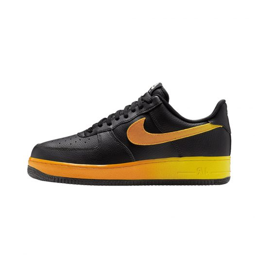 Nike Air Force 1 Low Black Yellow Orange