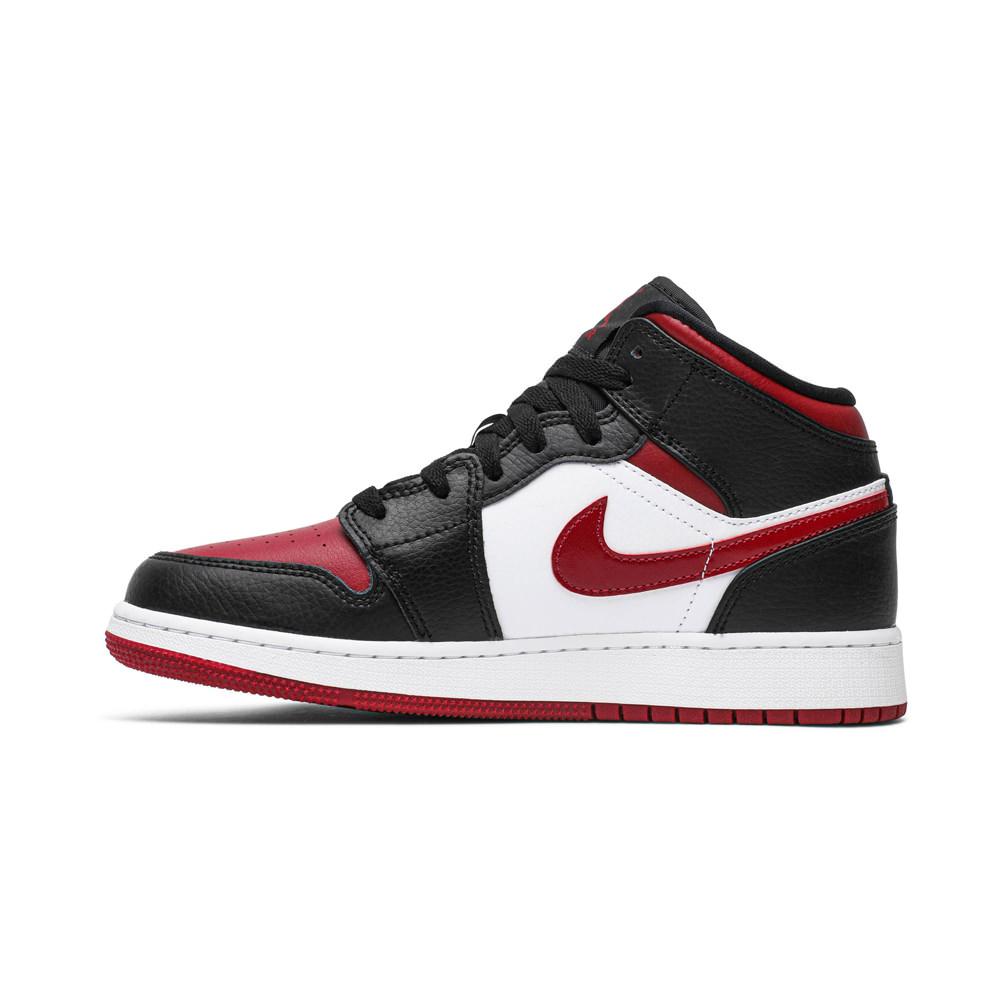 Jordan 1 Mid Bred Toe (GS)