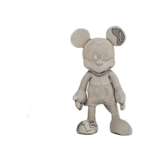 Daniel Arsham X Disney Apportfolio Plush Mickey Figure Small