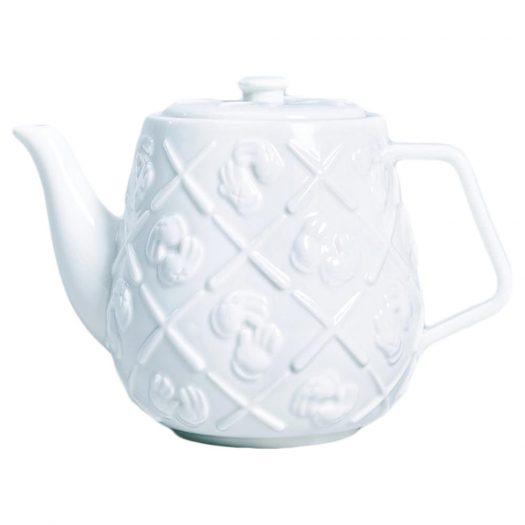 Kaws Ceramic Teapot White