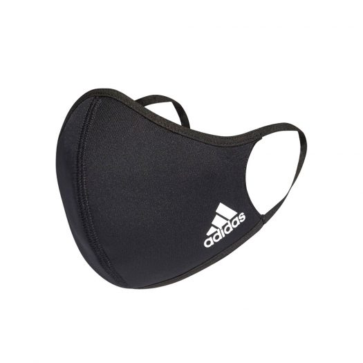 adidas Face Cover 3-Pack Black - Large